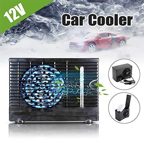 Eruditter Klimagerät Auto 12V, Tragbar Mobile Klimagerät Klimaanlage Luftkühler | 2 Geschwindigkeitsstufen | Für Auto, LKW, Zelt, Wohnmobil, Schlafkabine, SUV, ATV