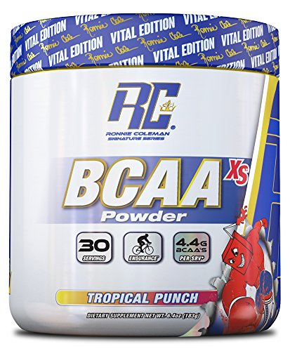 BCAA XS Powder, Tropical Punch - 183g