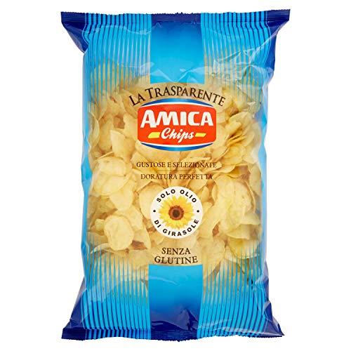 Amica Chips Patatine Classiche - 5 pezzi da 500 g [2500 g]