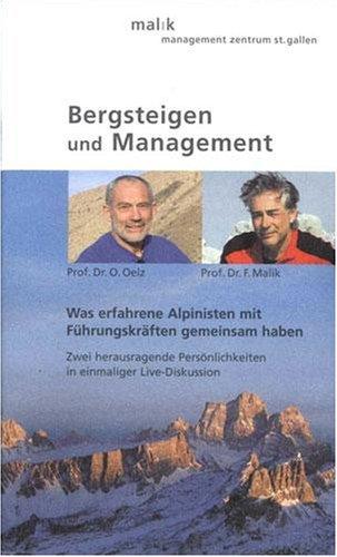 Bergsteigen und Management - Podiumsdiskussion
