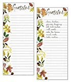 Gina B Designs Set of 2- Gather Leaves List Pad, Notepad, Shopping List with Attachable Magnet