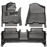 fussmattenprofi.com Tapis de Sol Voiture 3D Premium sur Mesure Adapté pour Hyundai Tucson (3.Gen) Depuis 2015