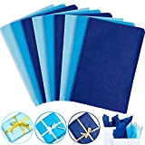 Whaline Assorted Blue Tissue Paper 120 Sheet Gift Wrapping Paper 15 x 20 Inch Gift Wrap Tissue Paper Art Paper Crafts for DIY Gift Wrapping Birthday Easter Wedding Holiday Paper Flower, 3 Colors