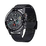 XYZK L16 Smart Watch IP68 Monitoreo impermeable y frecuencia cardíaca Medición de la presión arterial Smartwatch de los hombres Pantalla HD de 1.3 pulgadas Fitness Sports Watch VS L13 L19(B)