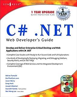 C#.net Web Developer's Guide (With CD-ROM)