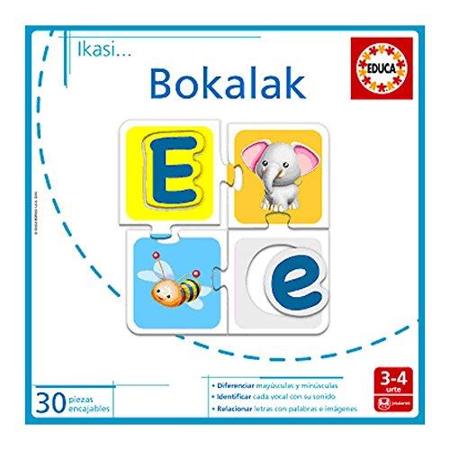 EDUCA BORRAS S.A. - Juego BOKALAK IKASIKO DITUT