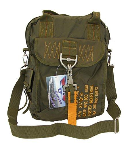 SBB Bolsa para Bag 4 – Paracaistas Style con mosquetón de liberación rápida