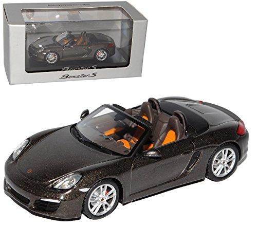 Minichamps Porsche Boxster S Cabrio Grau 981 Ab 2012 1/43 Modell Auto