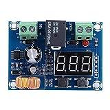 Modulo di disconnessione a bassa tensione della batteria, XH-M609 12-36 V CC Bassa tensione della batteria interrotta con display digitale per protezione prolungata durata della batteria