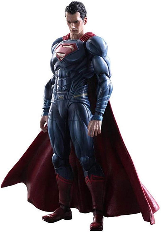 n ° 1 en línea Xiao Yu DC Comics, súperman Justice League, Serie Serie Serie Desmontable de Juguetes Decorativos, Accesorios Diversos, Juntas móviles, Materiales de projoección Ambiental de PVC, Seguro y no tóxico  más vendido