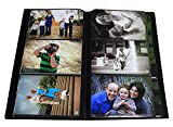 Portfolio Photo Album Holds 144 Pictures - 4x6 Inch/Space Saver Album with Protective Poly Case
