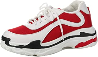 VulusValas Women Lace Up Sports Shoes