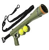 Pistolet Lanceur de balle de tennis, Meilleur jouet pour chien, 2balles inclus, Jeu sportif lanceur de balle