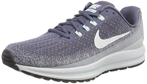 Nike Wmns Air Zoom Vomero 13, Zapatillas de Running para Mujer, Negro (Light Carbon/Summit White/Wolf Grey 002), 38 EU