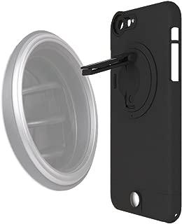 Ztylus Z-Clip Car Phone Vent Clip w/Black Leather Feel Smartphone Case for Apple iPhone 6 plus & 6s plus Multipurpose Kickstand Pocket Clip Case - Non-Slip Phone Case Magnet Free Full Body Protection