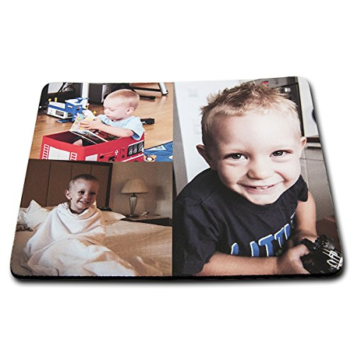 Muismat muismat met je gepersonaliseerde afbeelding – eigen foto antislip, afmetingen ca. 230 x 190 mm
