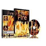 火DVD- HDで撮影 -   暖炉、キャンプ  ファイア、薪火、暖炉のルーピング  シーン