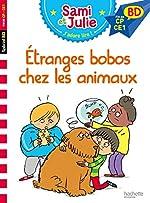 Sami et Julie BD - Etranges bobos chez les animaux de Sandra Lebrun