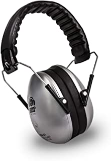 Ems for Kids Hearing Protection Earmuffs - Silver. The Original Folding Children's Earmuff Since 2007. Use at Loud Events Including NASCAR, air Shows, Concerts, Festivals and More!