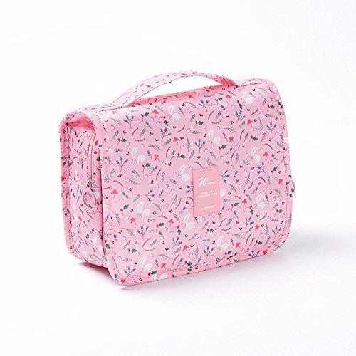 WC/WC, sac cosmétique, grande capacité étanche, produits touristiques rose rose bonbon