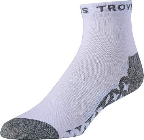 Troy Lee Designs Socken Starburst Quarter Weiß Gr. 44-47