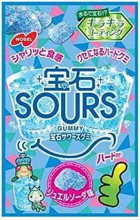 ノーベル製菓 宝石サワーズ(SOURS) ジュエルソーダ 55g×6袋入×(2ケース)