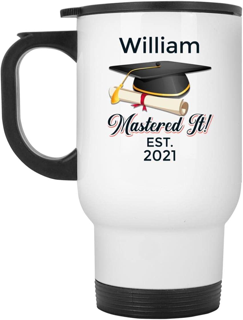 Flesdo Personalized Graduation Mastered It Free Shipping Cheap Bargain Gift Coffee Custom G - Mail order Mug