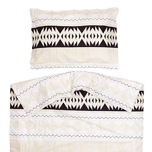 Ethno – PatiChou 100 % bomullssäng/spjälsäng set (påslakan & kuddfodral) 100 x 140 cm Flerfärgad