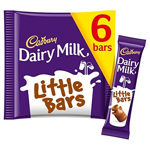 Original Cadbury Leche Leche Leche Pequeñas Barras importadas del Reino Unido, Inglaterra, The Best Of Cadbury Leche Chocolate en un pequeño paquete