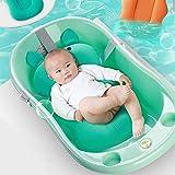 Cuscino per vasca da bagno per lavello Bagnante, Cuscini per bagnetto comfort, Tappetino per vasca da bagno per neonato Lettino per supporto da bagno per neonato 0-18 mesi, Maiale adorabile