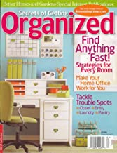 Better Homes And Gardens Special Interest Publications, Secrets Of Getting Organized, Special 2008 Issue