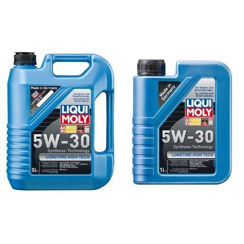 Liqui Moly Longtime High Tech Motoröl, 5W-30, 6 Liter (5L + 1L)
