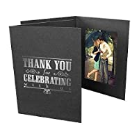 Thank You for Celebrating 4x6 Event Photo Folders (25 Pack) [並行輸入品]
