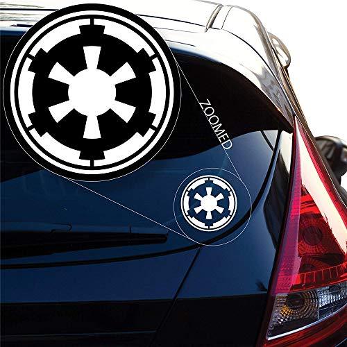 Star Wars Aufkleber Galactic Empire Star Wars Emblem Wappen Aufkleber Aufkleber für Autofenster Laptop Motorrad Wände Spiegel