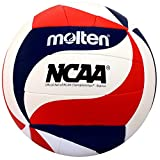 Molten MS500-SWIRL Recreational Camp NCAA Replica Volleyball Official Size
