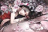 fengqing Puzzle De Madera para Niña De Tatuaje 1000 Piezas Dibujos Animados Rompecabezas Regalo Juguetes para Niños Puzzles