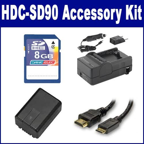 Panasonic HDC-SD90 Camcorder Accessory SDVWVBK180 Kit Max 63% OFF Ranking TOP10 Includes: