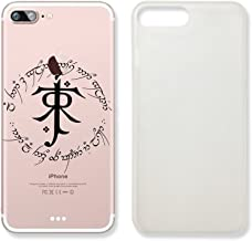 Not All Those Who Wander Are Lost in Elvish Language Text Quote Clear Transparent Plastic Phone Case for Iphone 7_ SUPERTRAMPshop (iphone 7)