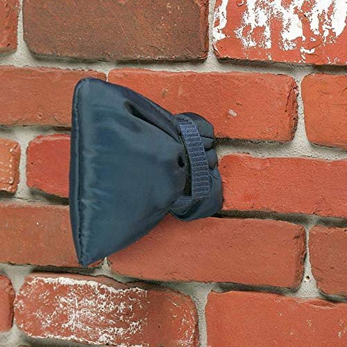 Cubierta para grifo, 1 funda para grifo aislada ThickenProtector exterior de protección del grifo para el invierno, protector de grifo de jardín al aire libre de Frost 22 x 18 x 5 cm (negro)