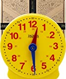 Jaques of London Let's Learn The Time Teaching Clock – Perfect Toys and Learning Resources Since 1795 – Montessori Toys for Boys and Girls