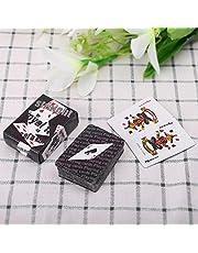 S-TROUBLE Mini naipe portátil Texas Hold'em Juego de Mesa Poker Escalada Juguete de Viaje