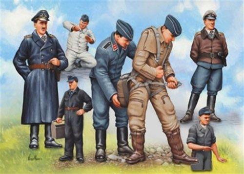 Revell - 02621 - Figurine - Pilotes de la Luftwaffe et Personnels