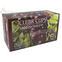Communion - Cup - Disposable (Clear) - 1 - 1/4 (Pk/1000) by Swanson Christian Supply