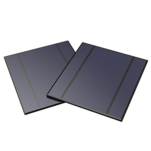 ALLPOWERS 2.5W 5V / 500mAh Mini gekapselte Solarzelle Epoxy Solarmodul DIY Batterieladegerät Kit für Batterie Power LED 130x150mm