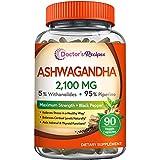 Doctor's Recipes Pure Organic Ashwagandha...