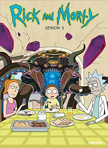 Rick and Morty: The Complete Fifth Season (DVD)
