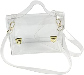 cec0ea918f1df6 Holographic Transparent Bag Retro Hologram Clear Bag Shoulder Crossbody  Purse
