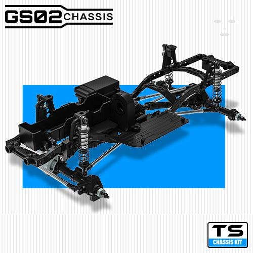 Gmade 57002 1/10 GS02 Ts Chassis Kit, Ready to Assemble