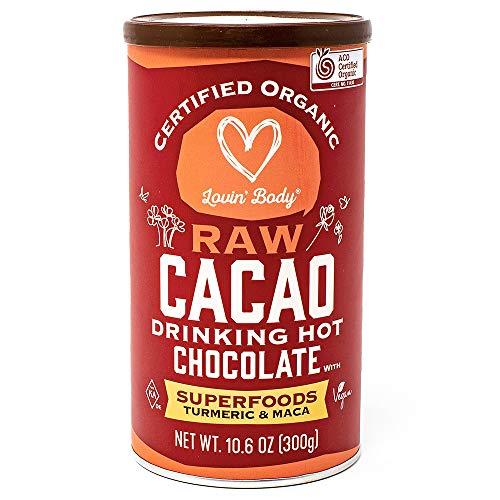 オーガニック RAW ロー ココア ホットチョコレート ドリンク 有機ココア ホットチョコレート300g 60杯分 (スーパーフードIN)