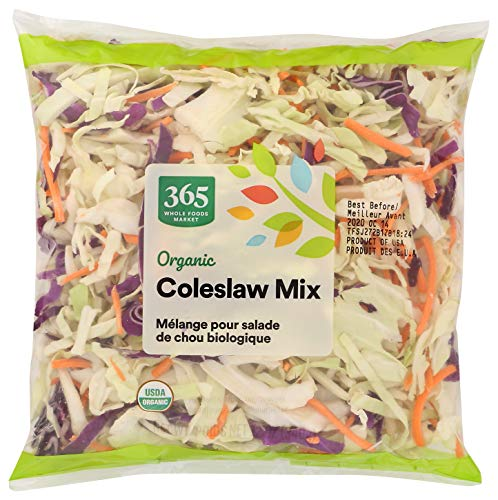 365 by Whole Foods Market, Organic Produce - Packaged Vegetables, Coleslaw Mix, 12 oz